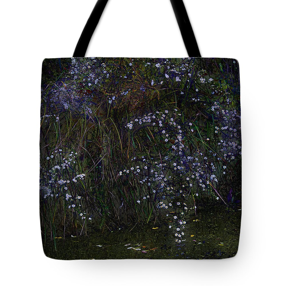 Flowers Tote Bag featuring the photograph Aster Days by Ron Jones