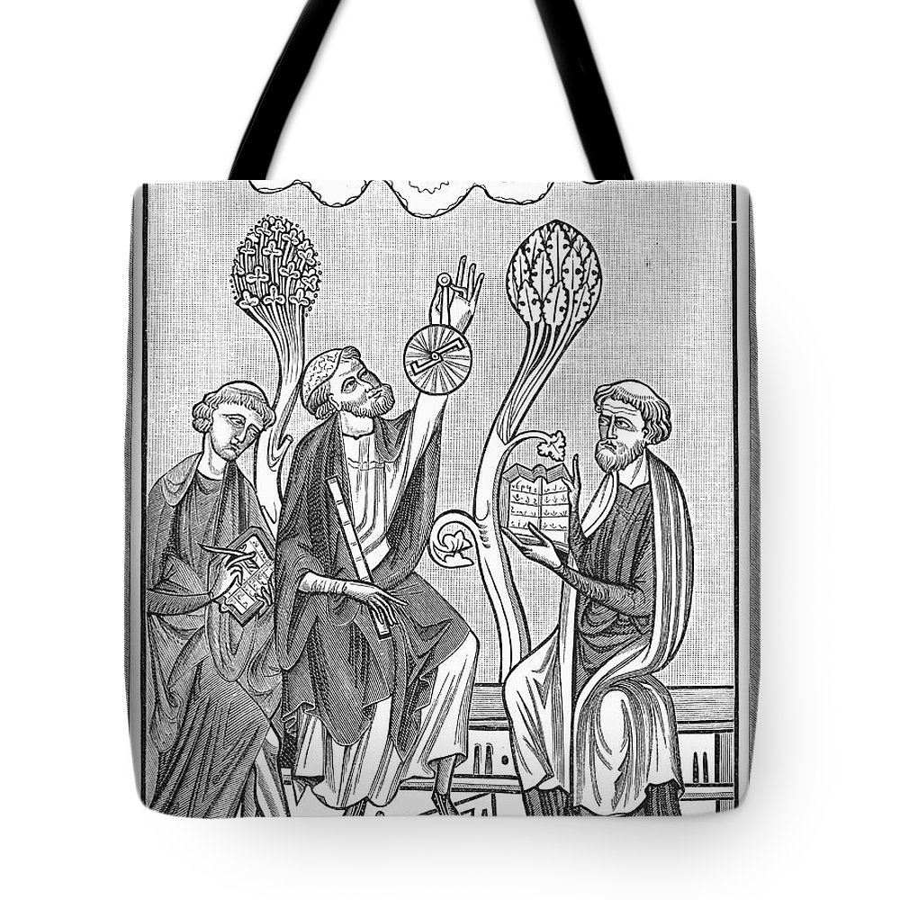 13th Century Tote Bag featuring the photograph Astronomy, 13th Century by Granger