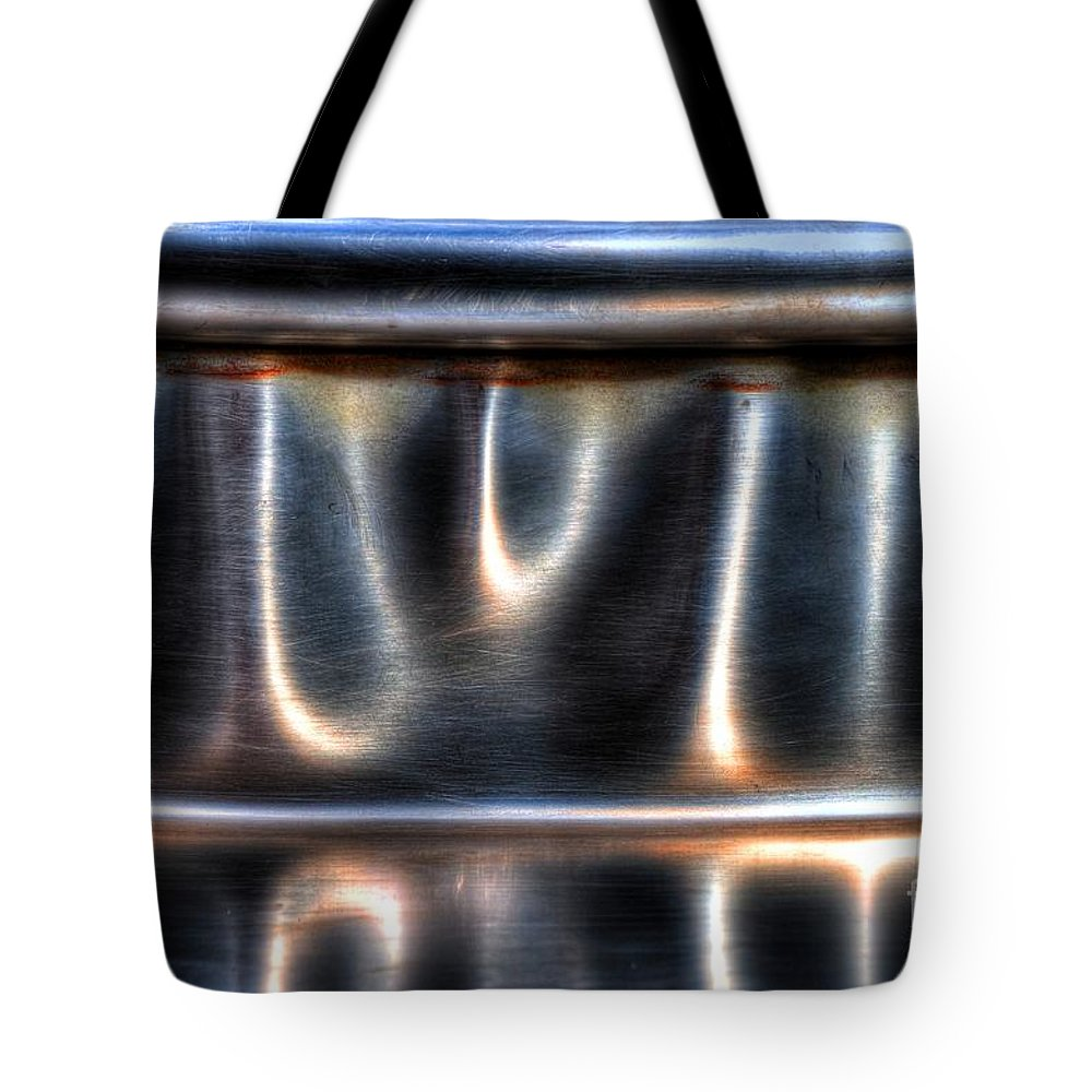 Bent Tote Bag featuring the photograph At The Bend by Michael Garyet
