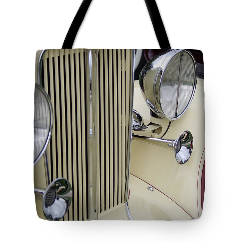 Auburn Tote Bag featuring the photograph Auburn Grill by Jim And Emily Bush
