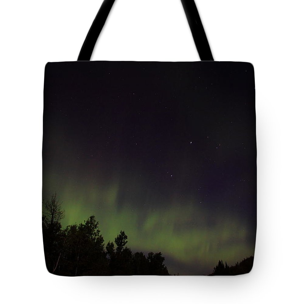 Tote Bag featuring the photograph Aurora by Joi Electa