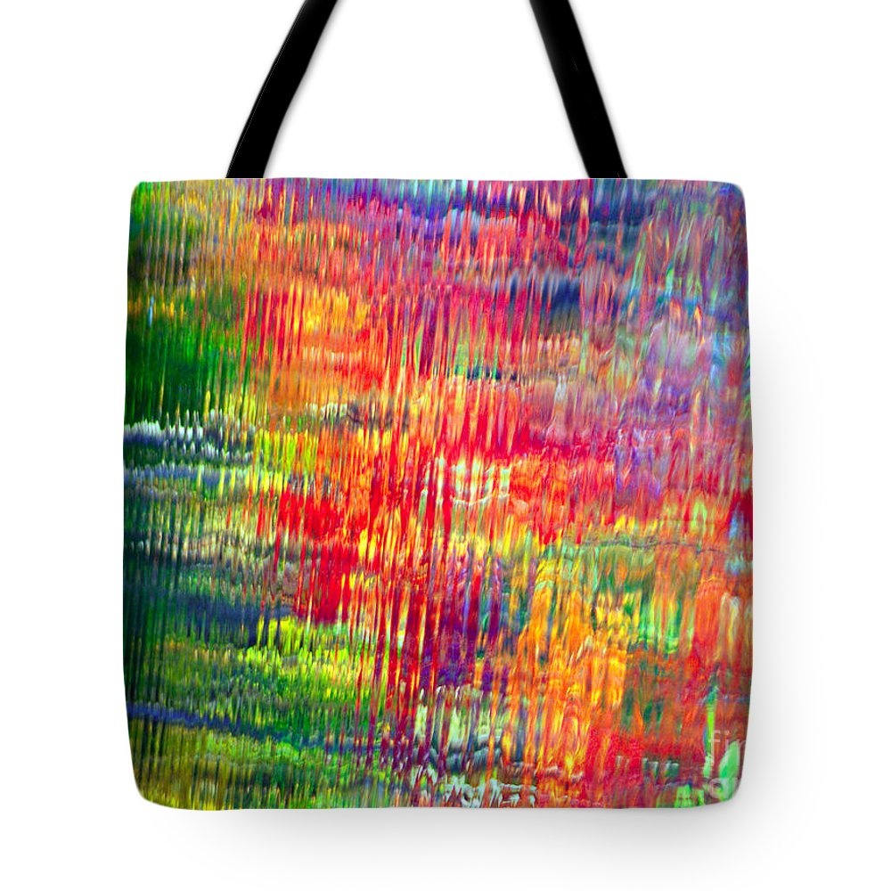 Autumn Colors Tote Bag featuring the photograph Autumn Abstarcts by Optical Playground By MP Ray