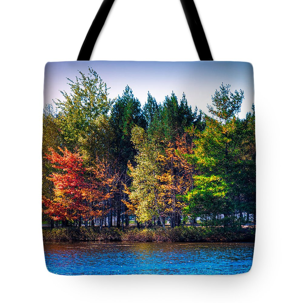 The Adirondacks Tote Bag featuring the photograph Adirondack Color 63 by David Patterson