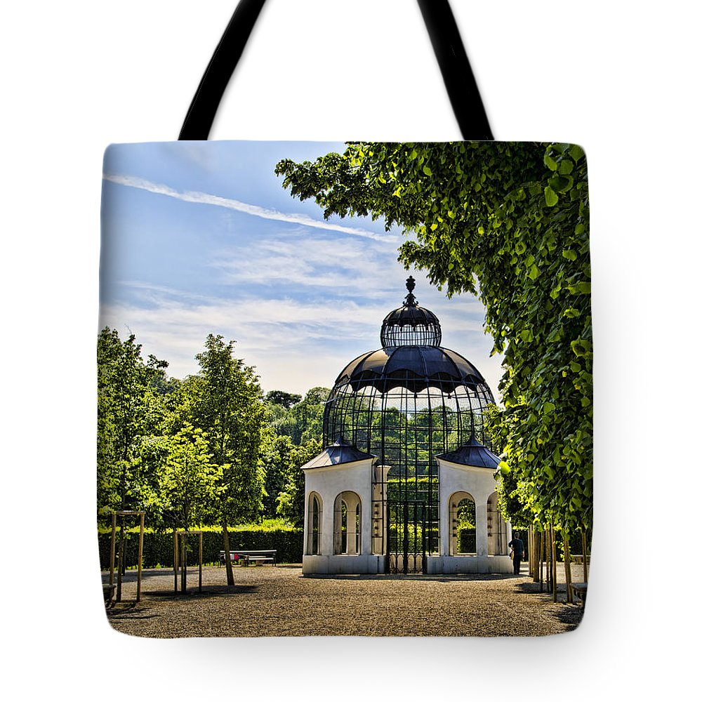 Schonbrunn Palace Tote Bag featuring the photograph Aviary At Schonbrunn Palace by Jon Berghoff