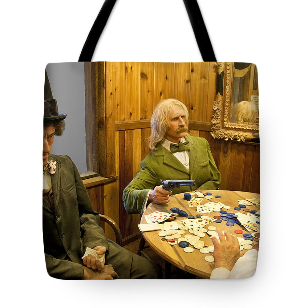 Impressionism Tote Bag featuring the photograph Bad Guys by Paul Cannon