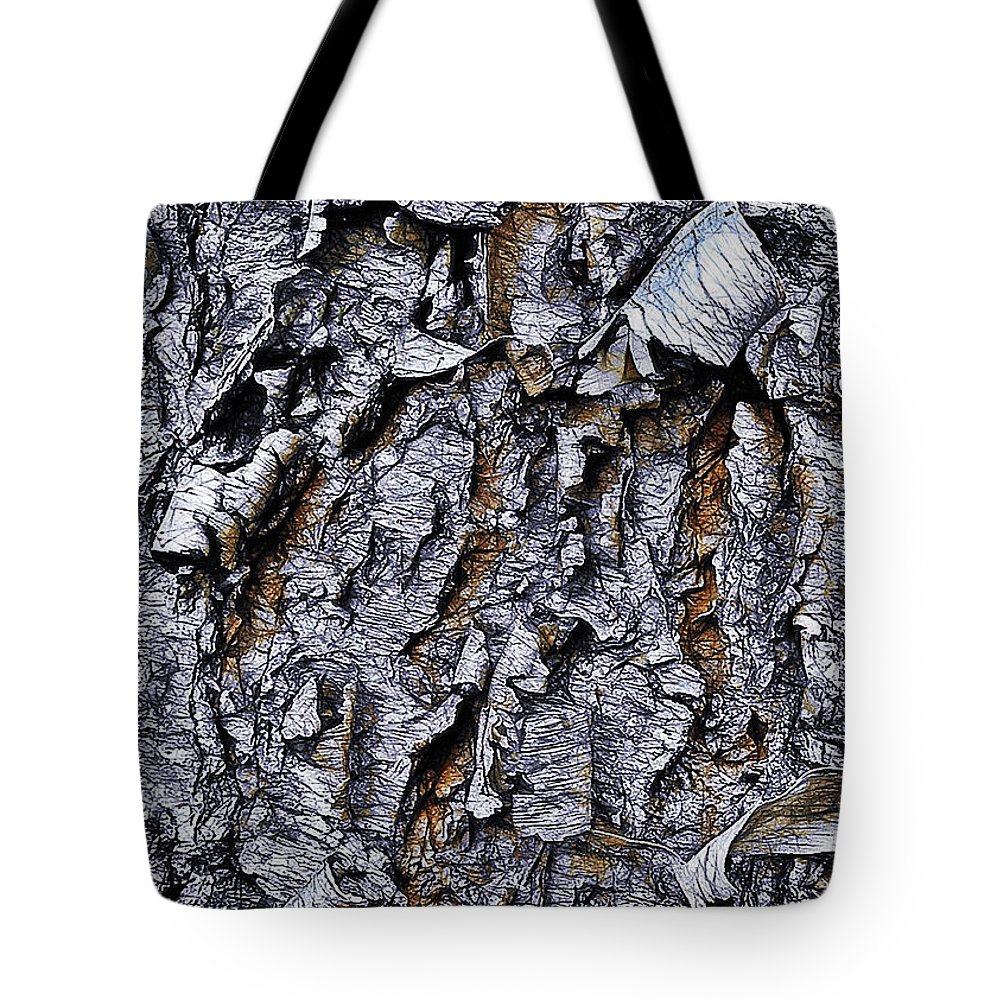 Bark Tote Bag featuring the photograph Bark by Judi Bagwell