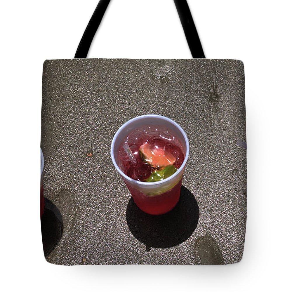 Beach Tote Bag featuring the photograph Beach Comos by Paul Beckelheimer