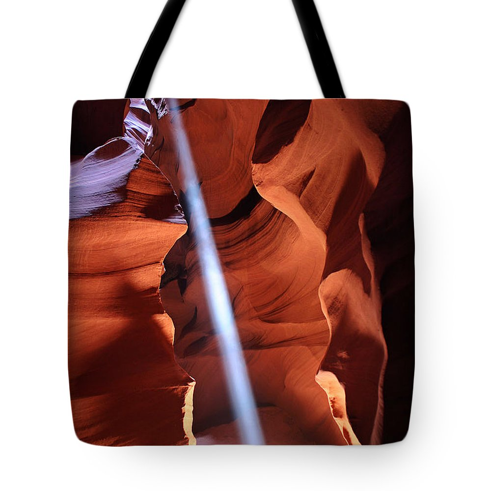 Beam Me Up Tote Bag featuring the photograph Beam Me Up by Wes and Dotty Weber
