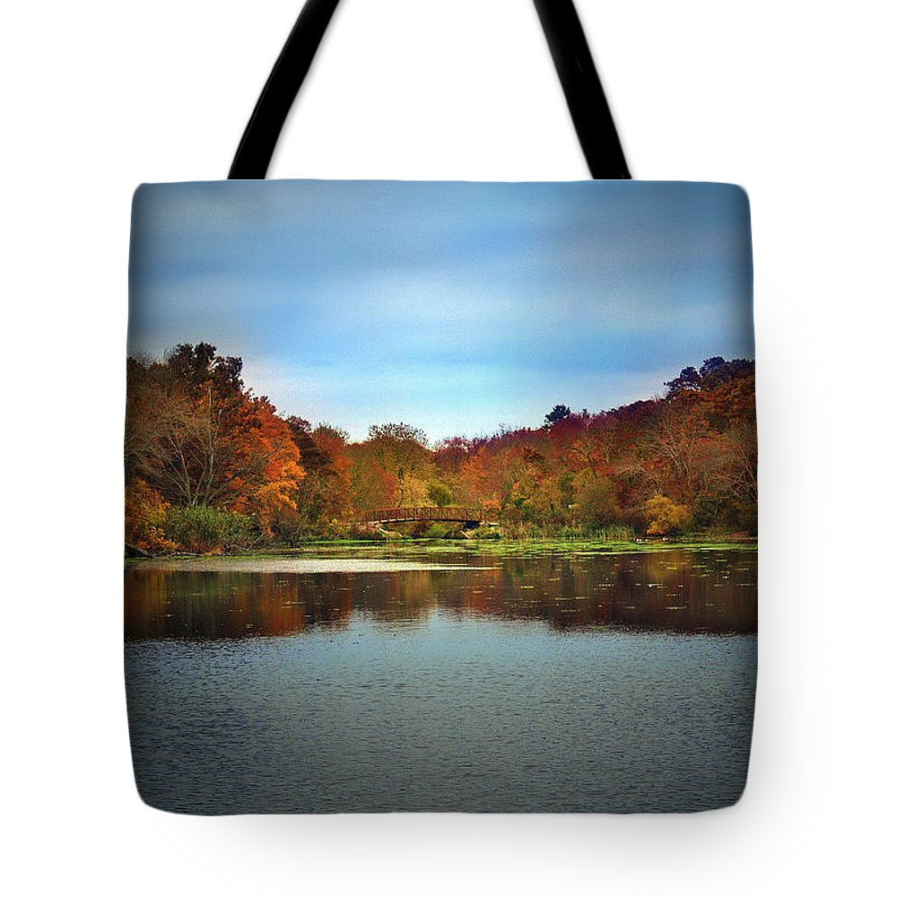 Autumn Tote Bag featuring the photograph Beautiful Autumn by Mikki Cucuzzo