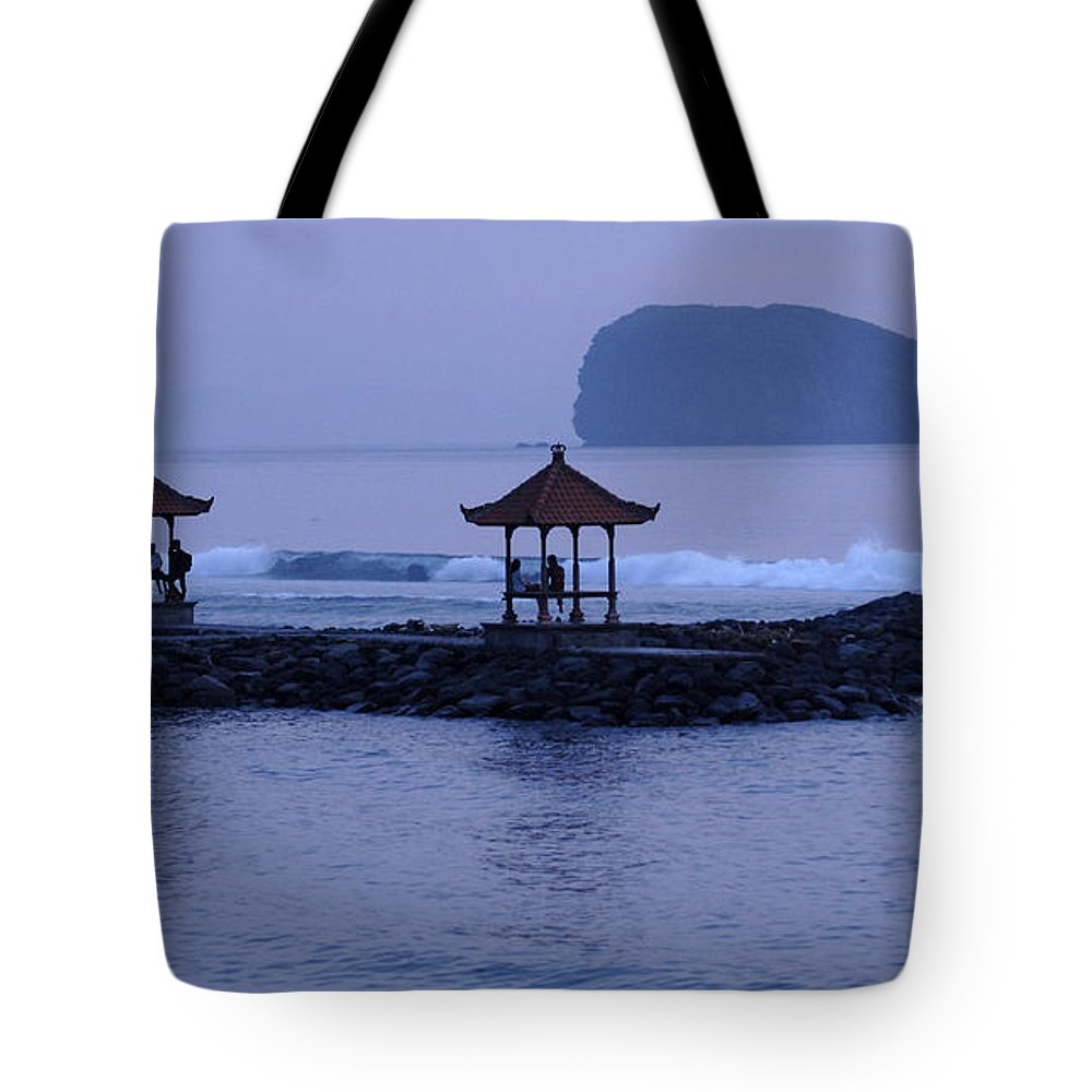 Beautiful Bali Tote Bag featuring the photograph Beautiful Bali by Bob Christopher