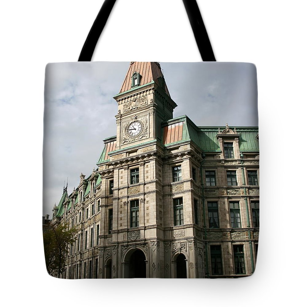 Building Tote Bag featuring the photograph Beautiful Front by Christiane Schulze Art And Photography