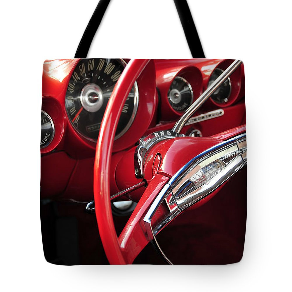 Fine Art Photography Tote Bag featuring the photograph Beautiful Wheels by David Lee Thompson