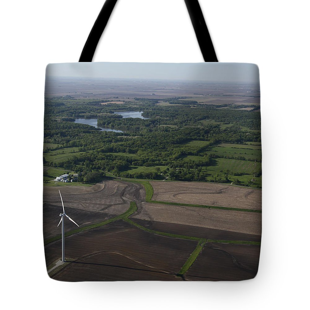 Aerial Tote Bag featuring the photograph Beauty From Above by Jim Finch