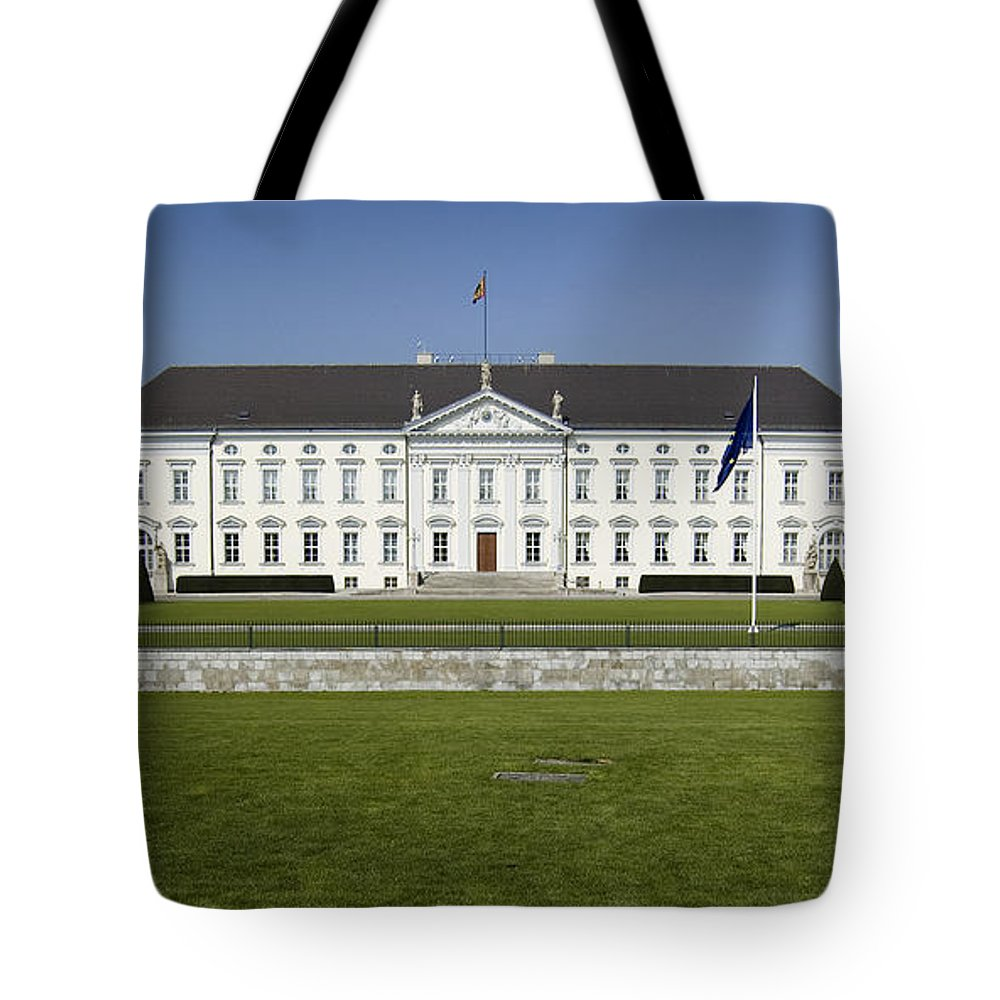 Bellevue Tote Bag featuring the photograph Bellevue Palace Berlin by RicardMN Photography