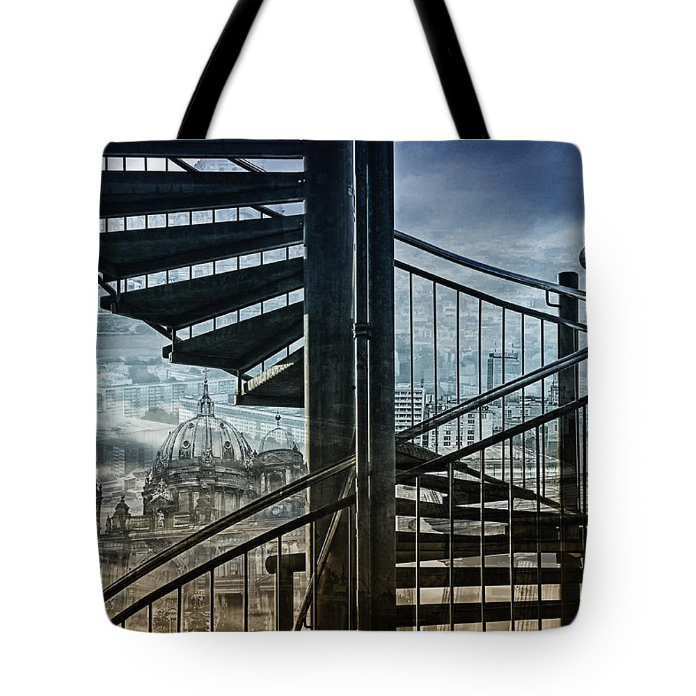Berlin Tote Bag featuring the photograph Berlin by Claudia Moeckel