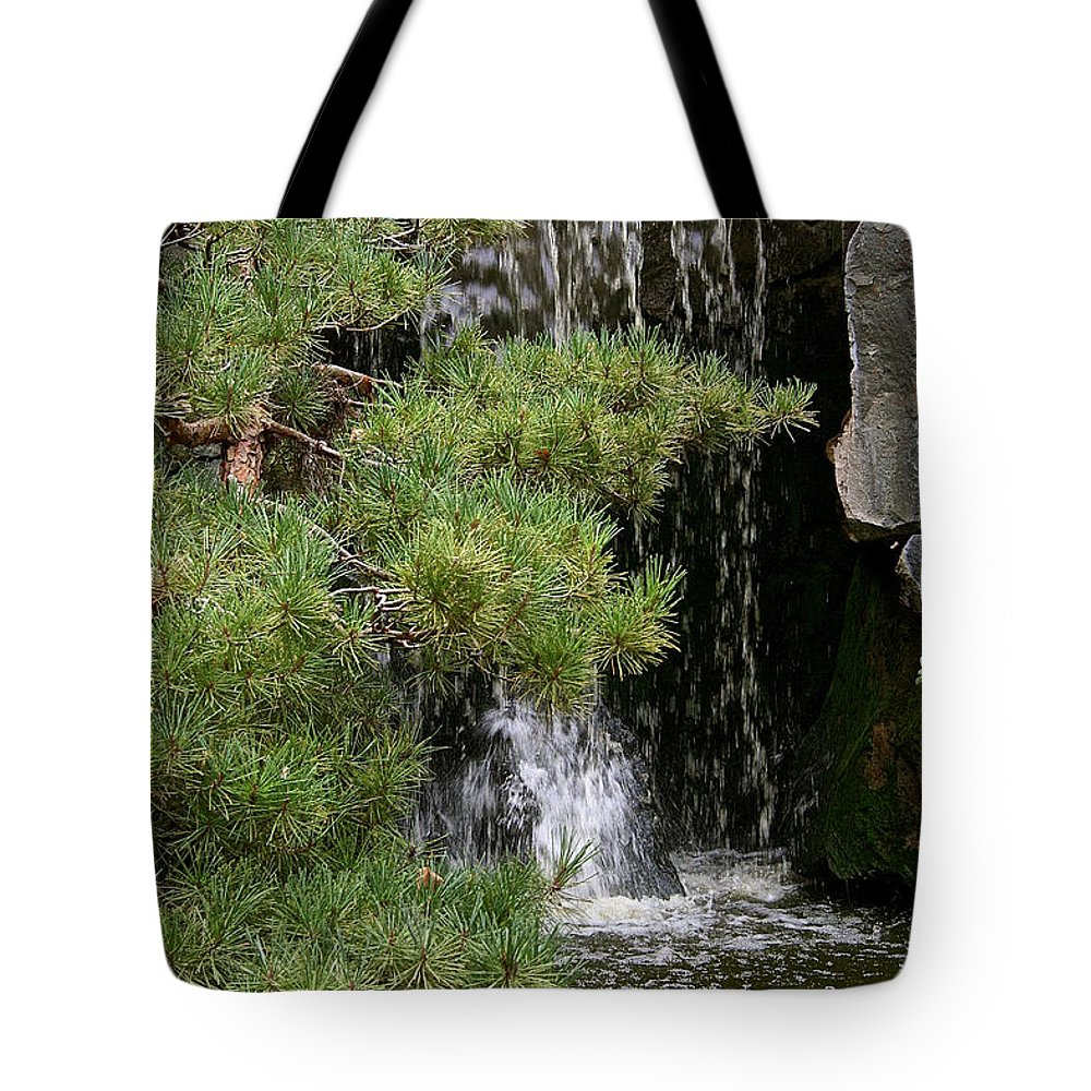 Outdoors Tote Bag featuring the photograph Big Drop Off by Susan Herber