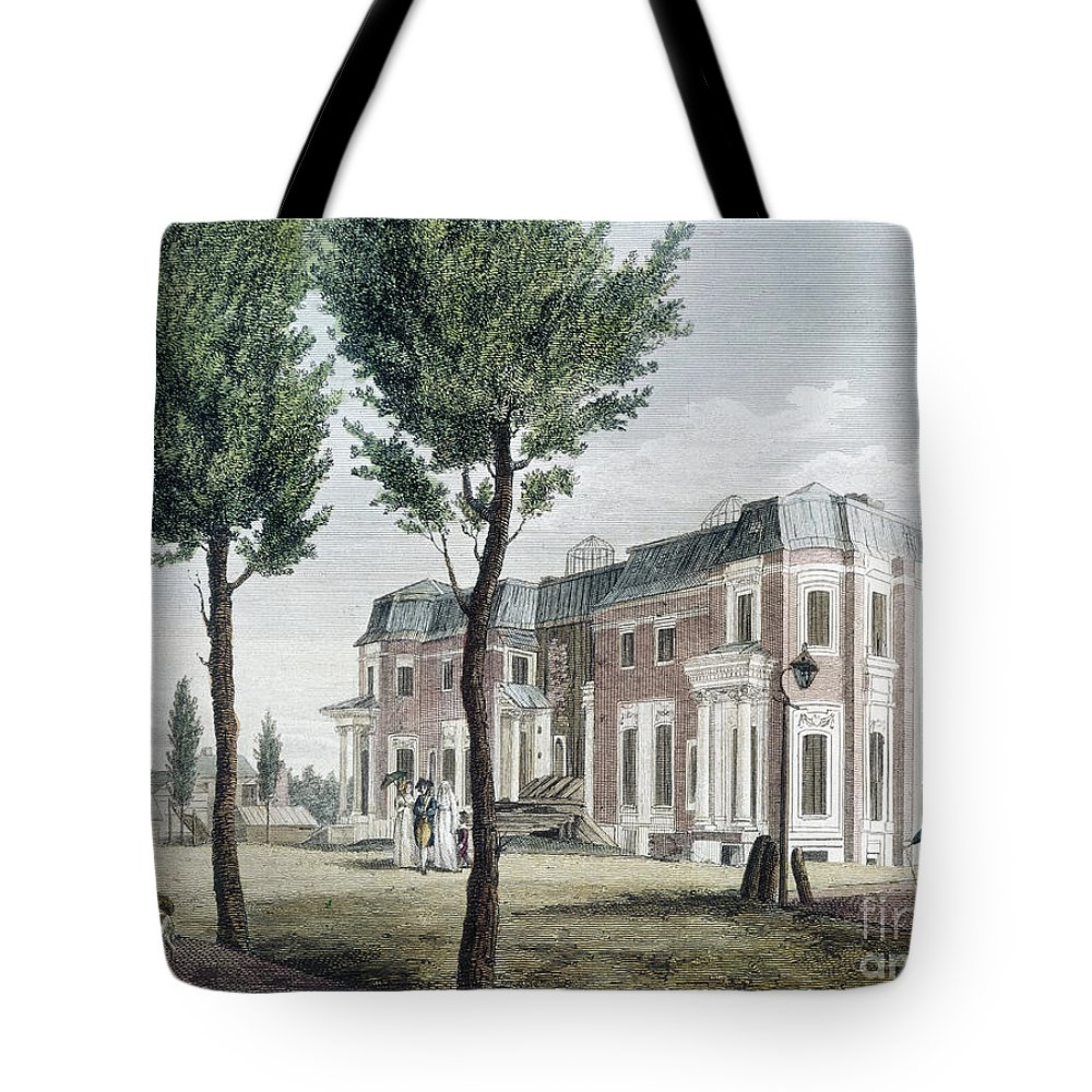 1800 Tote Bag featuring the photograph Birch: Philadelphia, 1800 by Granger