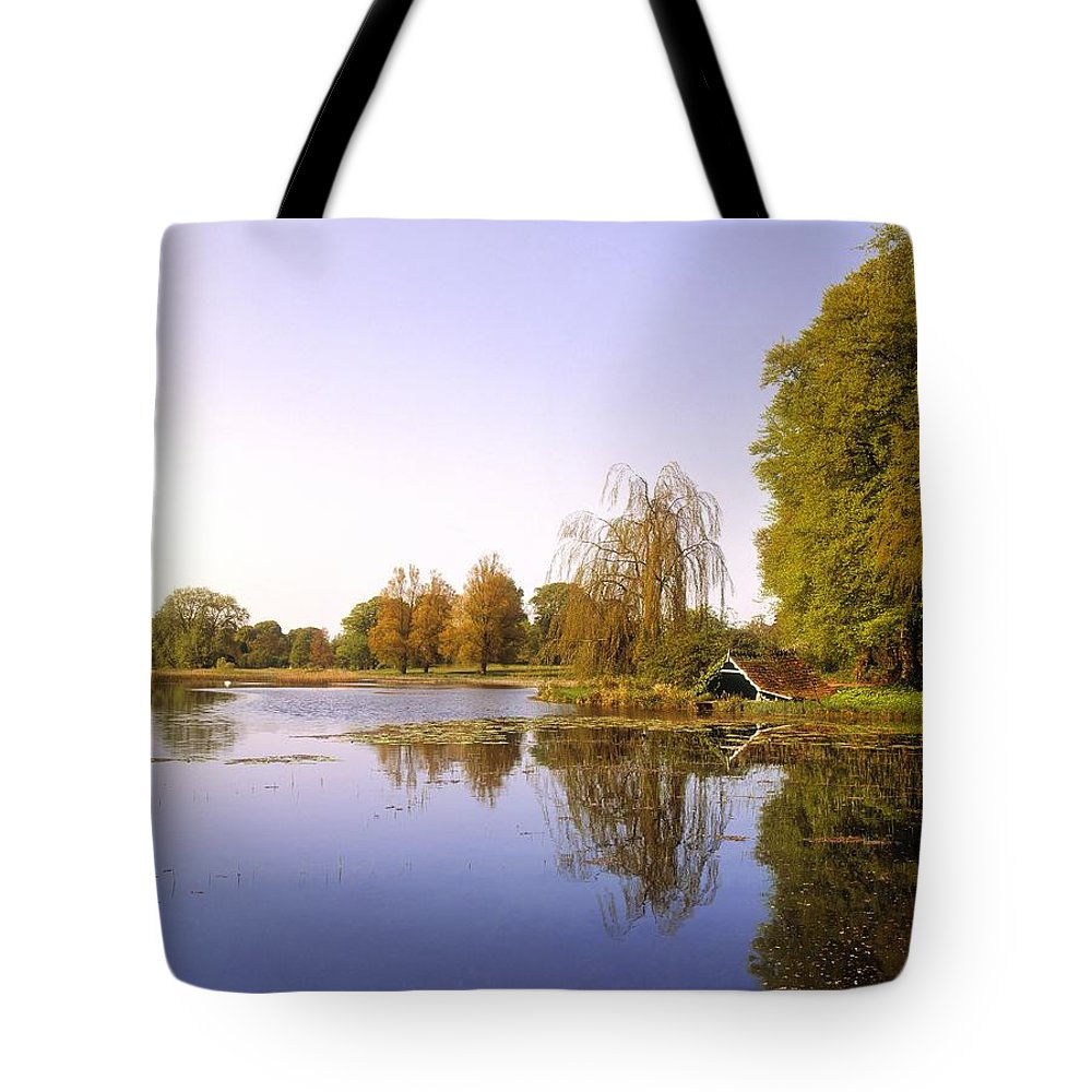 Beauty In Nature Tote Bag featuring the photograph Birr Castle Demesne, Co Offaly, Ireland by The Irish Image Collection