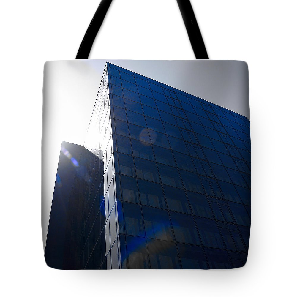 2012 Tote Bag featuring the photograph Black Glass by Jouko Lehto