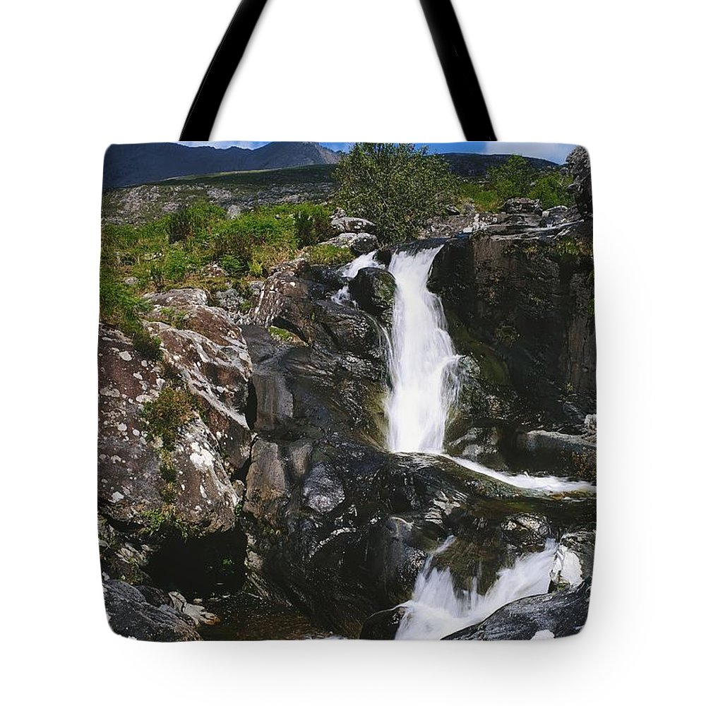 Blurred Motion Tote Bag featuring the photograph Black Valley, Co Kerry, Ireland by The Irish Image Collection