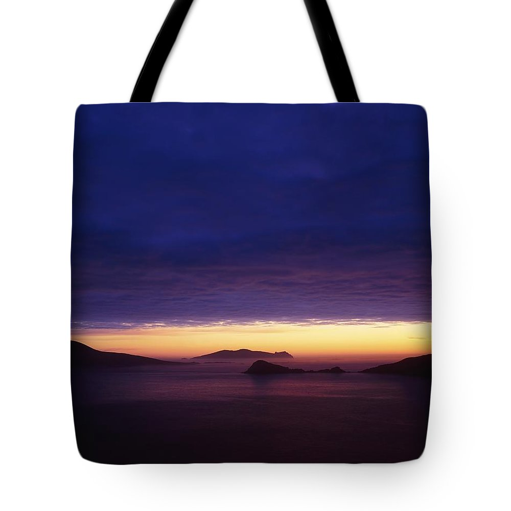 Beach Tote Bag featuring the photograph Blasket Islands, Co Kerry, Ireland by The Irish Image Collection