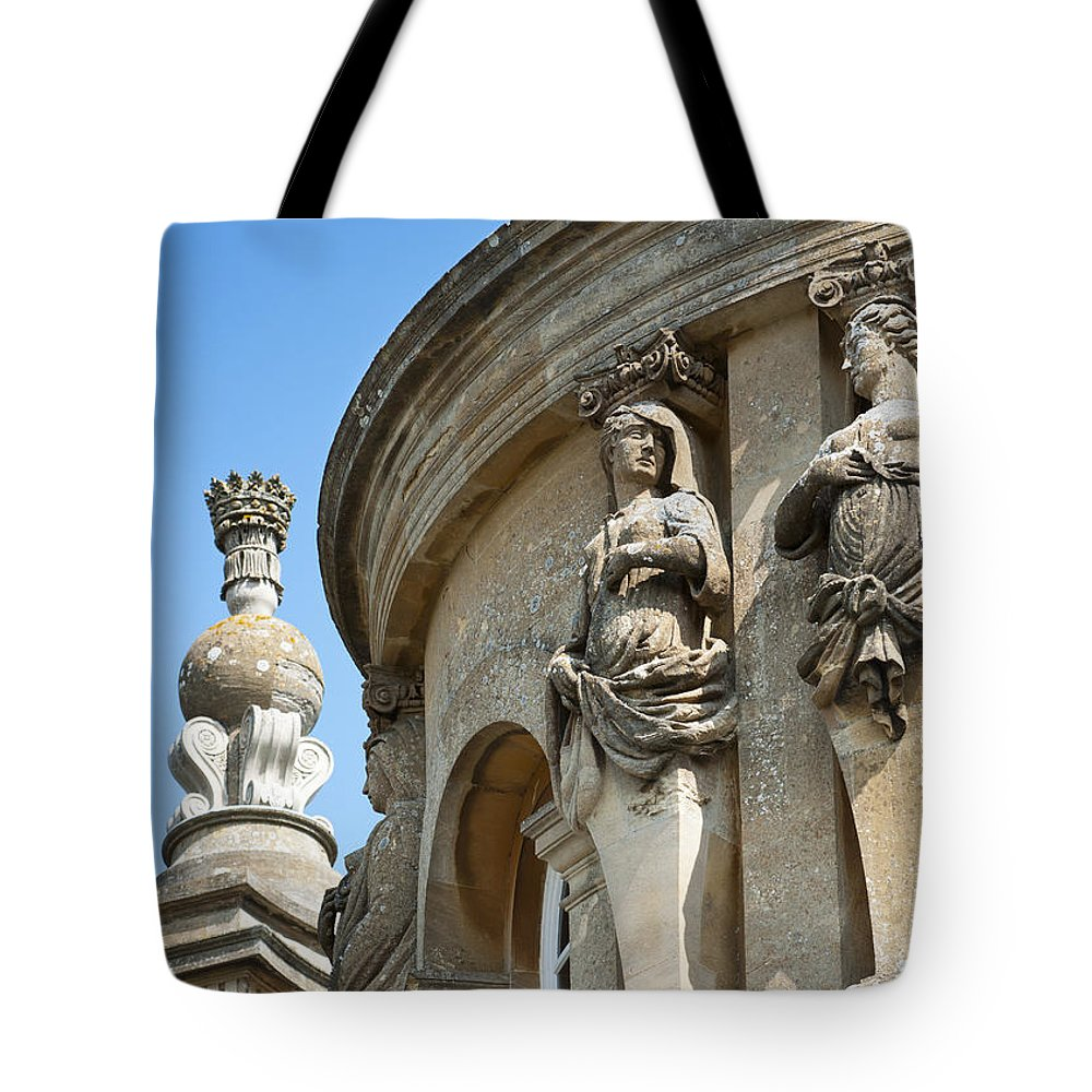 2011 Tote Bag featuring the photograph Blenheim Palace Detail by Andrew Michael