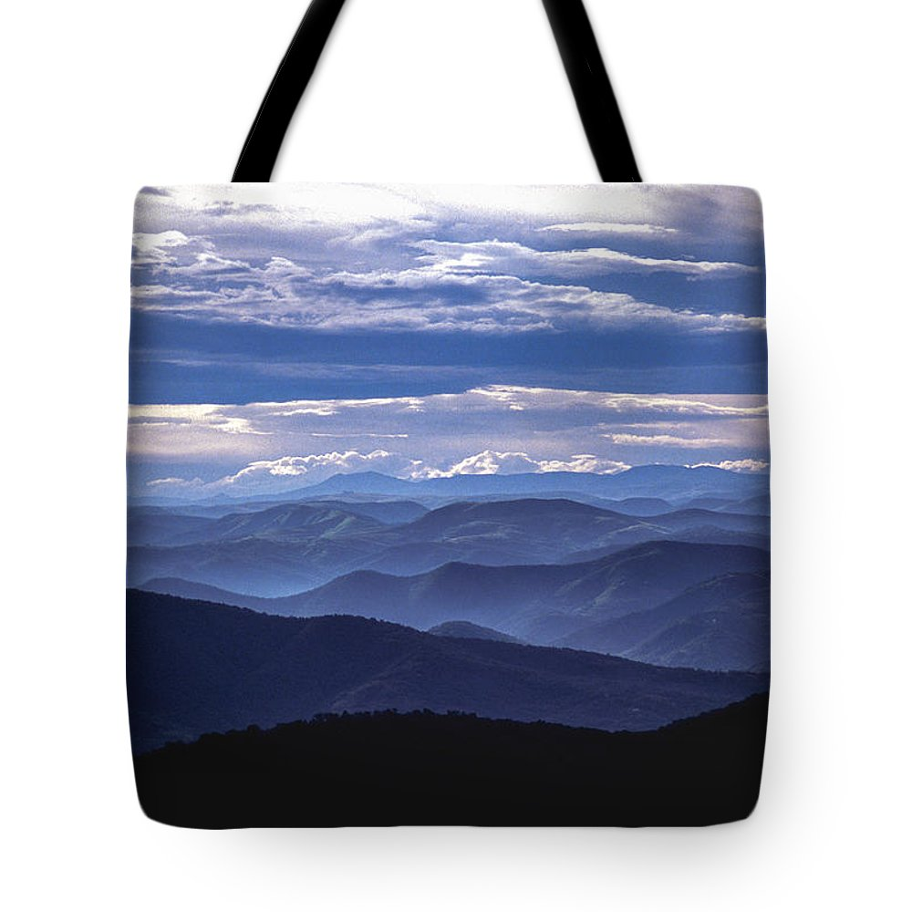 Africa Tote Bag featuring the photograph Blue by Alistair Lyne