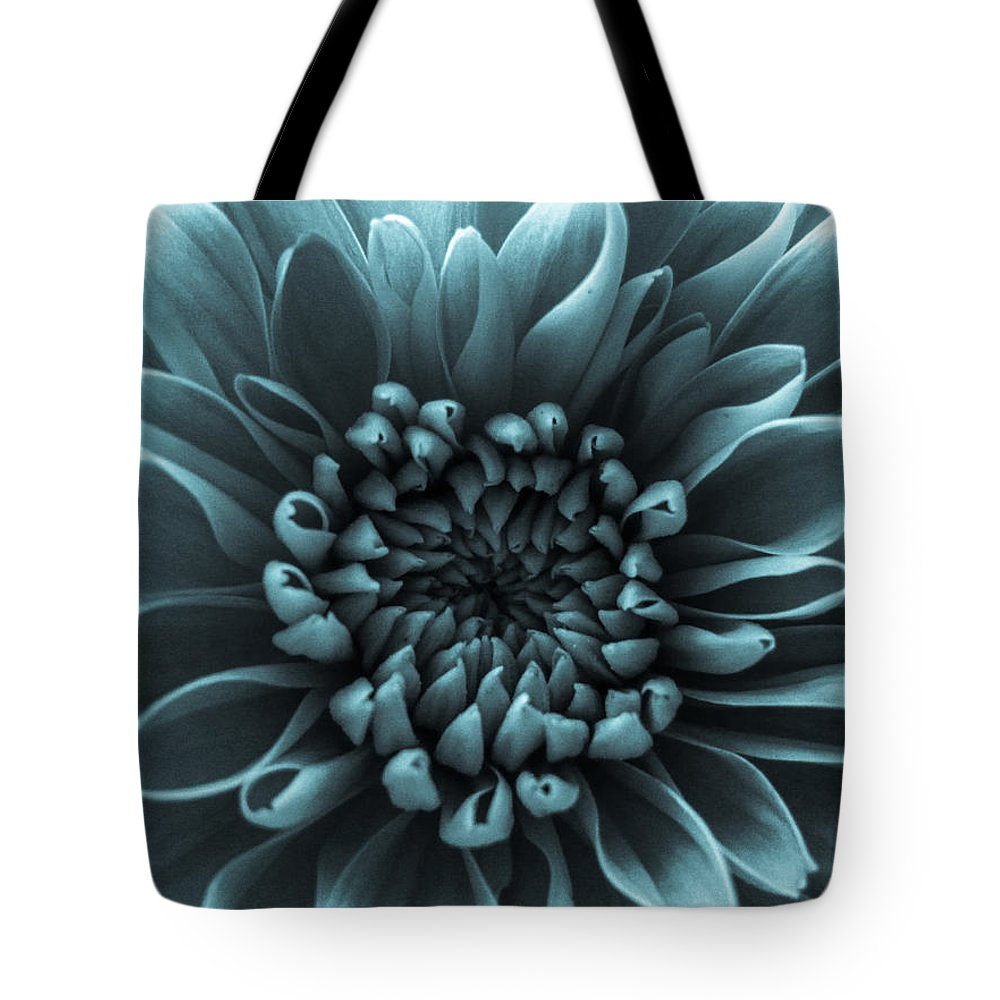 Blue Flower Tote Bag featuring the photograph Blue Flower by Dawn OConnor