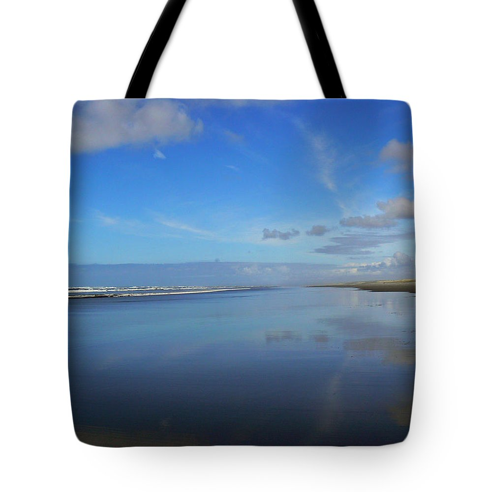 Blue Tote Bag featuring the photograph Blue On Blue by Pamela Patch