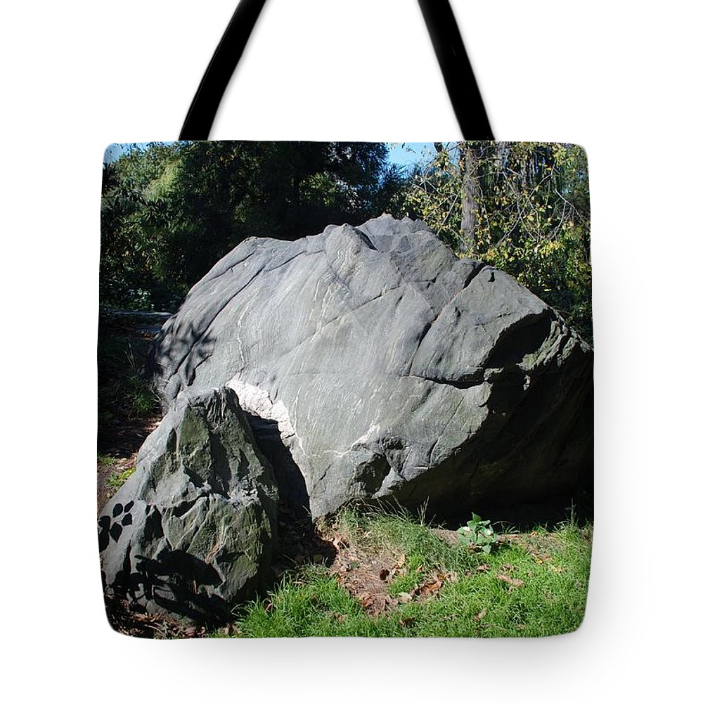 Central Park Tote Bag featuring the photograph Bolder Central Park by Rob Hans
