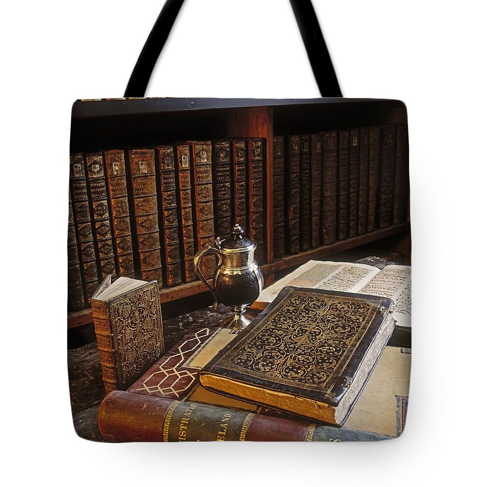 Cashel Tote Bag featuring the photograph Bolton Library, Cashel, Co Tipperary by The Irish Image Collection