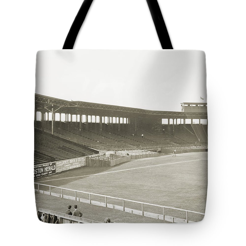 1912 Tote Bag featuring the photograph Boston: Fenway Park, 1912 by Granger