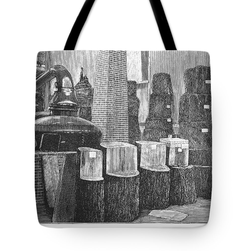1883 Tote Bag featuring the photograph Boston: Industrial Fair by Granger