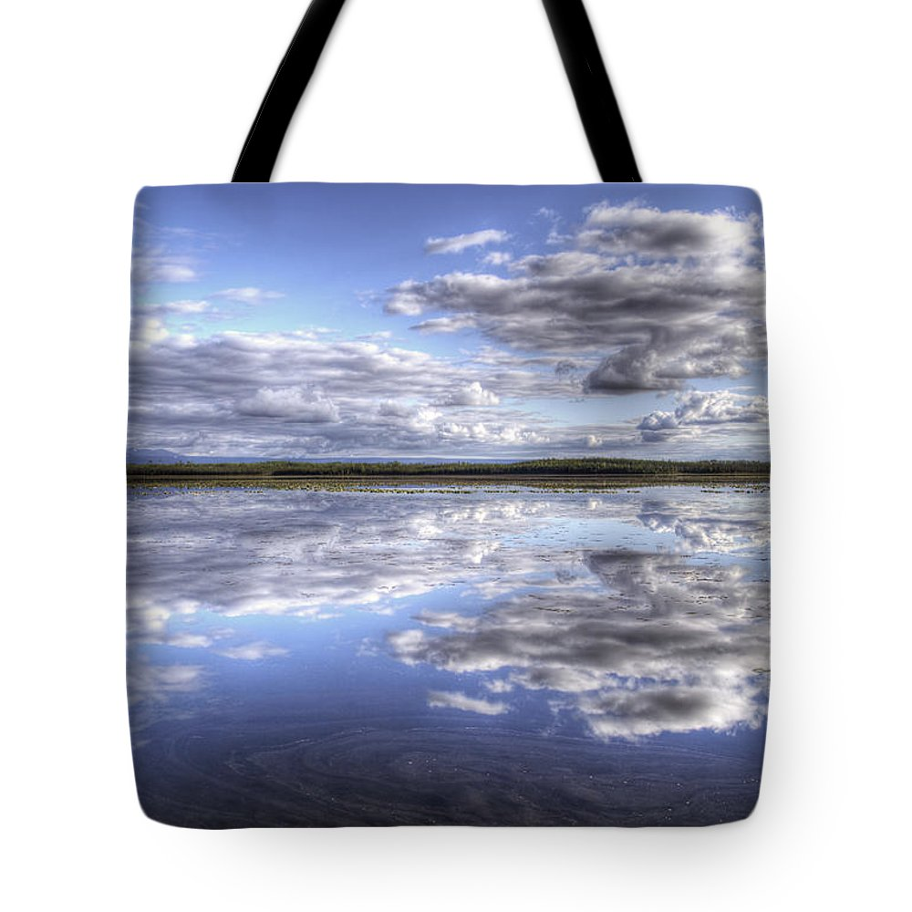 Lake Tote Bag featuring the photograph Bottentnen Lake by Michele Cornelius