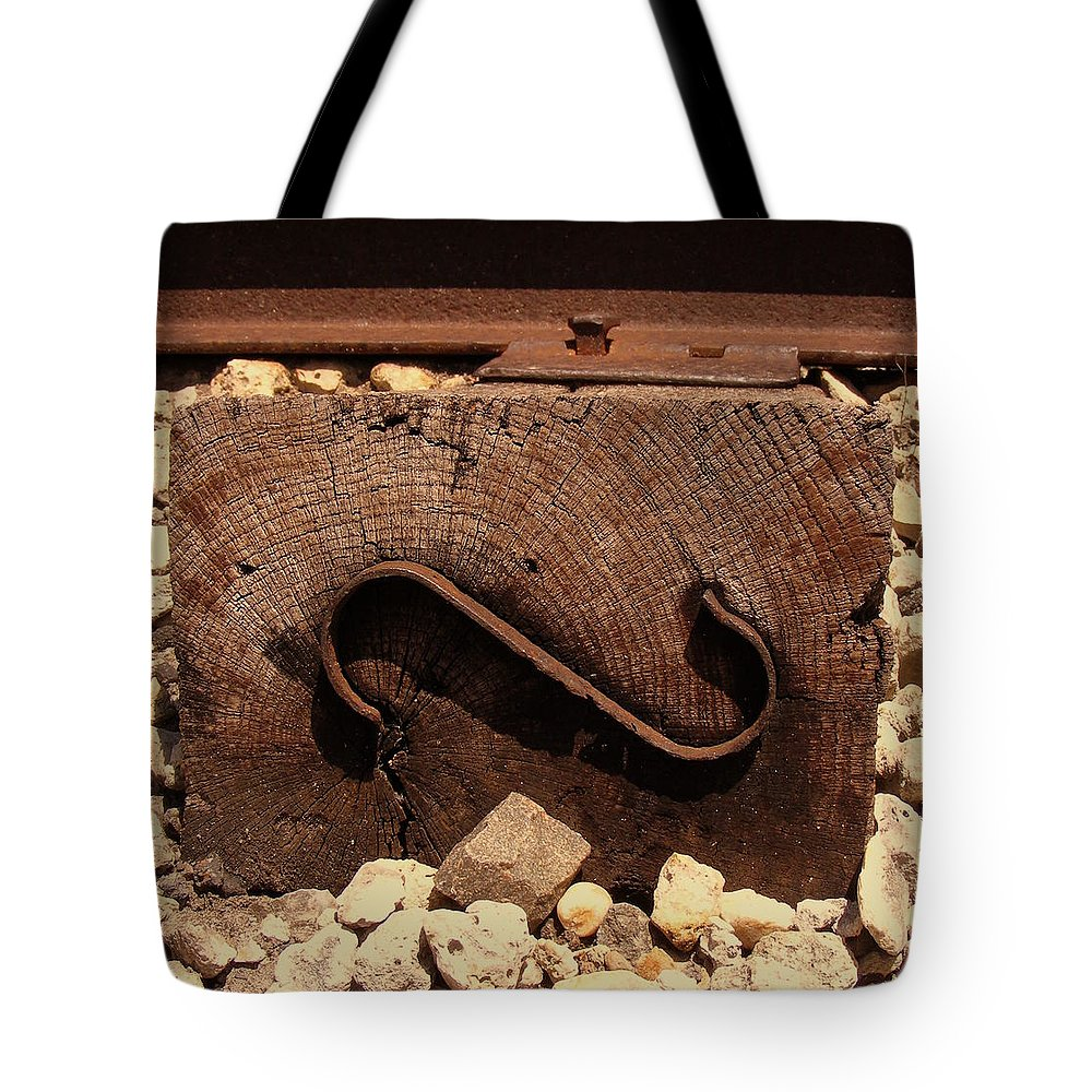 Branded Tote Bag featuring the photograph Branded by Ed Smith