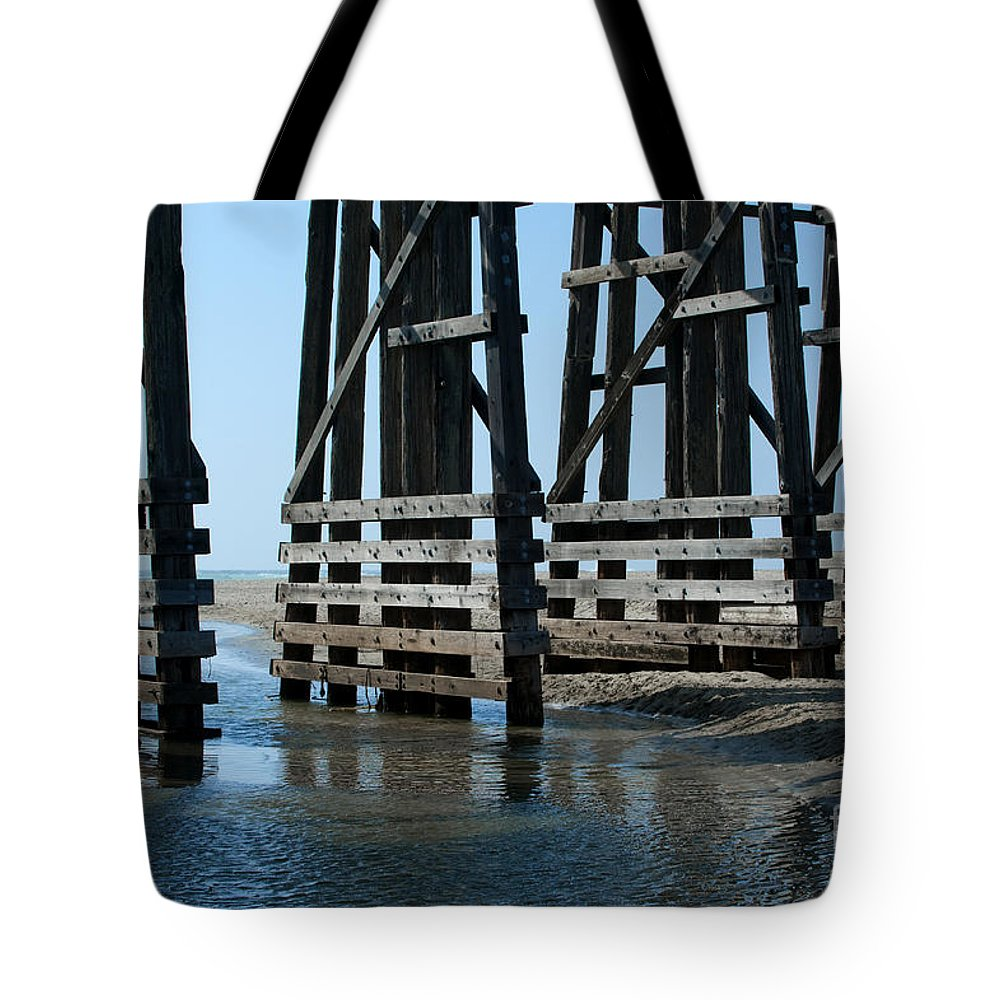 Sandra Bronstein Tote Bag featuring the photograph Bridge Detail by Sandra Bronstein