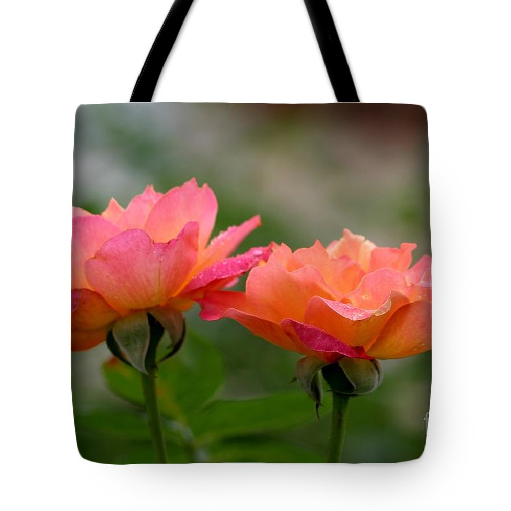 Roses Tote Bag featuring the photograph Broadway by Living Color Photography Lorraine Lynch