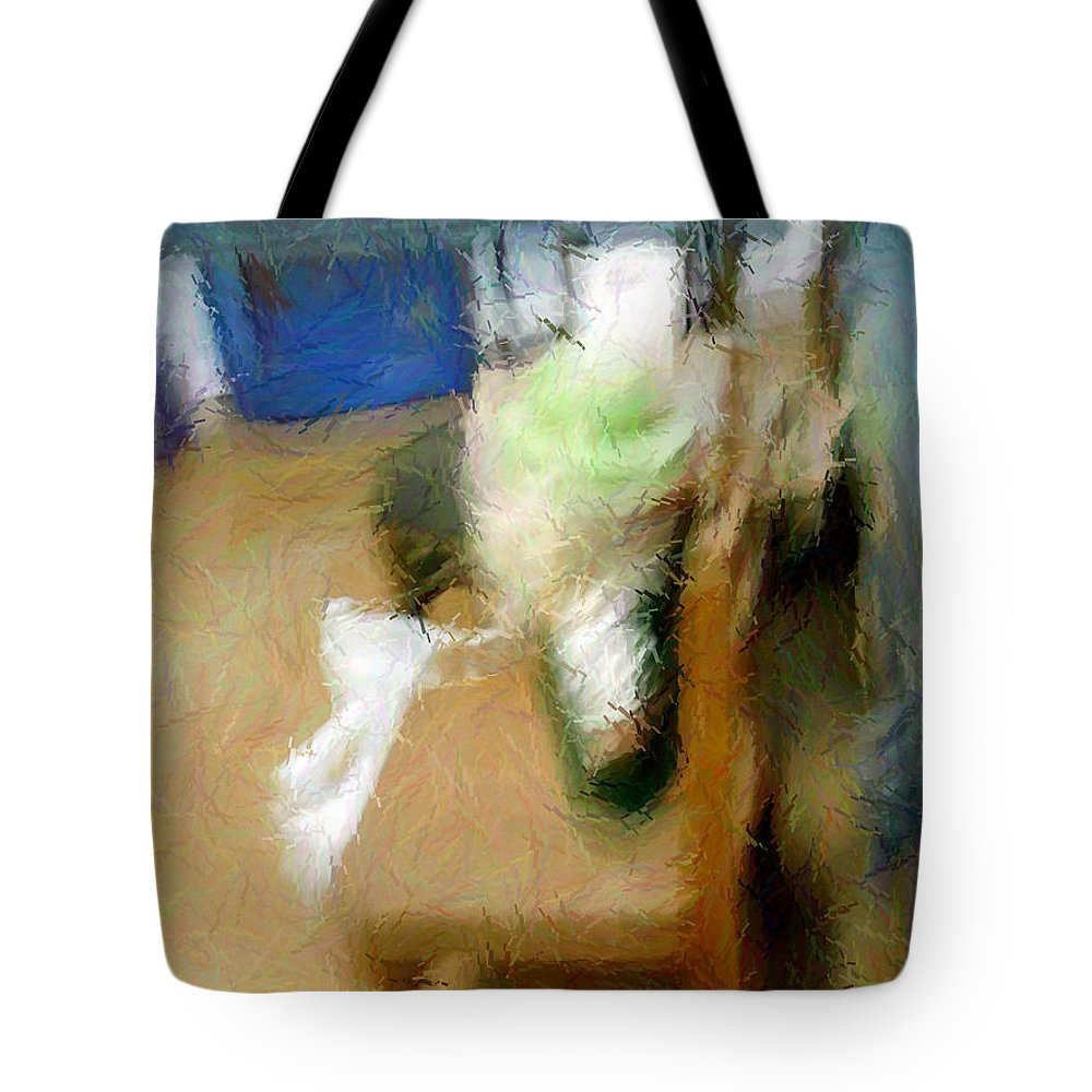 Digital Tote Bag featuring the photograph Broken Childhood by Renee Trenholm