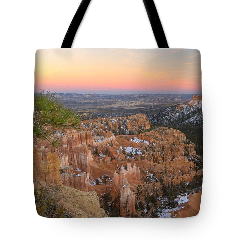 Bryce Canyon Tote Bag featuring the photograph Bryce Canyon by Idaho Scenic Images Linda Lantzy