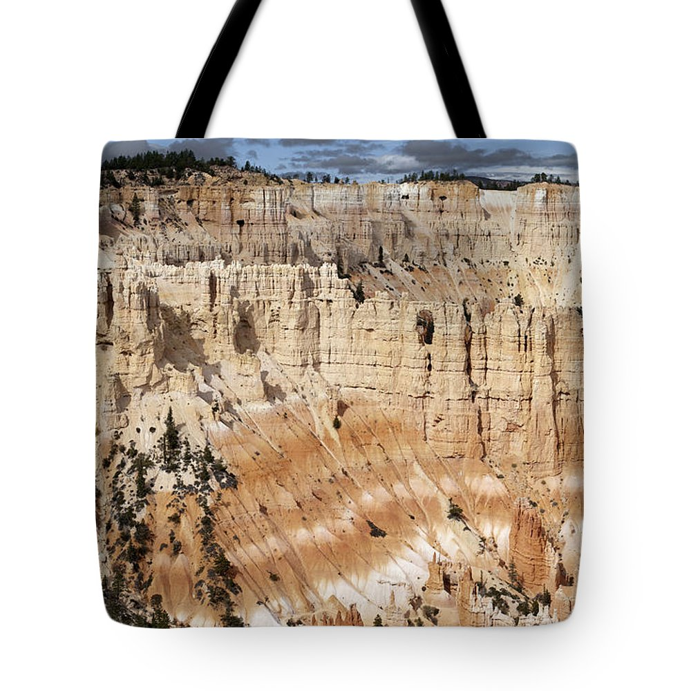 Sandra Bronstein Tote Bag featuring the photograph Bryce Canyon Vista by Sandra Bronstein