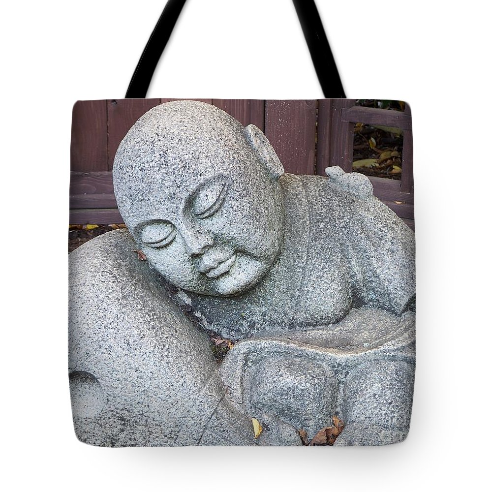 Buddha Tote Bag featuring the photograph Buddha by Chalet Roome-Rigdon