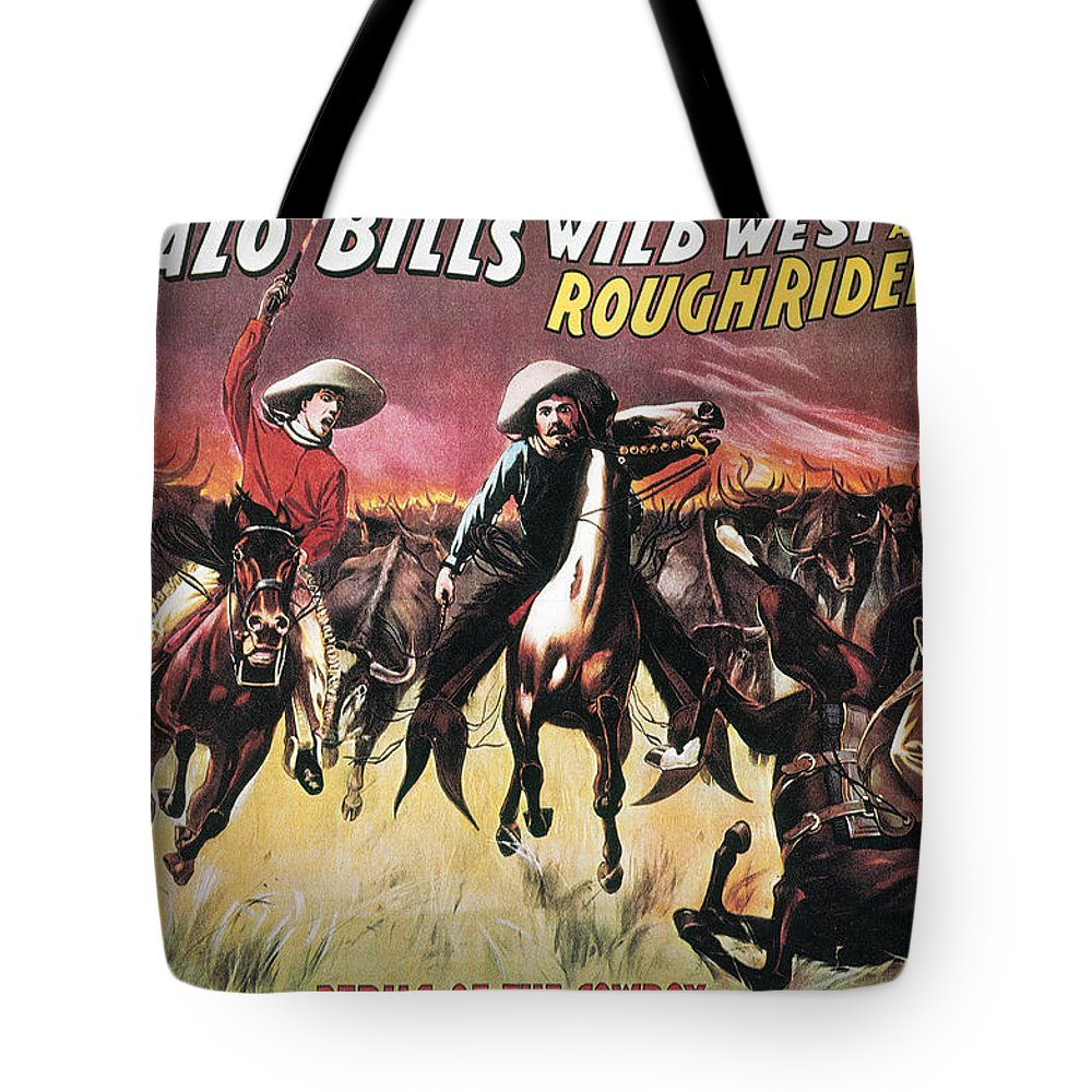 1893 Tote Bag featuring the photograph Buffalo Bills Show by Granger