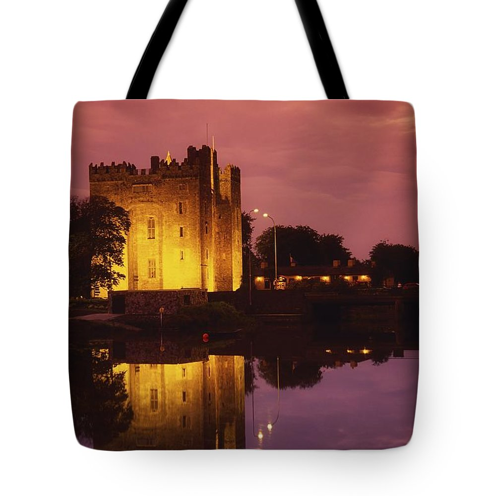 Architecture Tote Bag featuring the photograph Bunratty, County Clare, Ireland by Richard Cummins