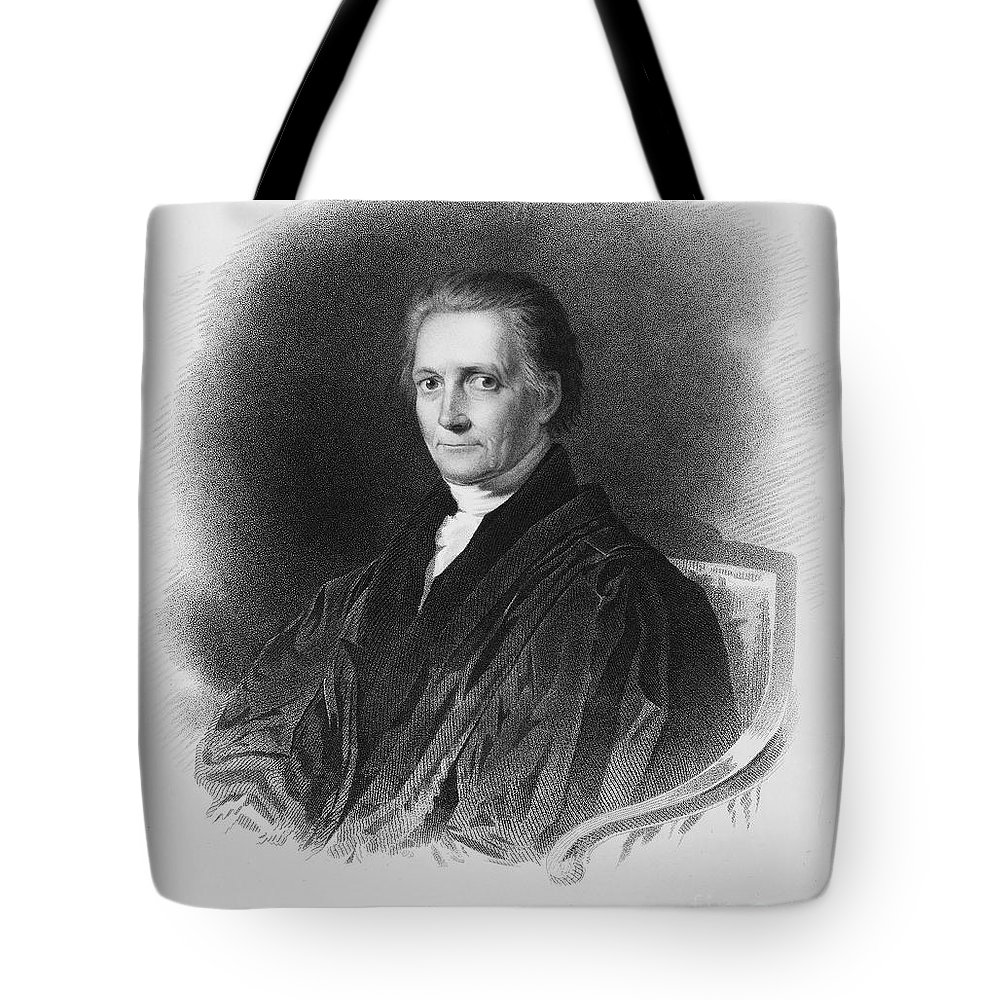 19th Century Tote Bag featuring the photograph Bushrod Washington by Granger