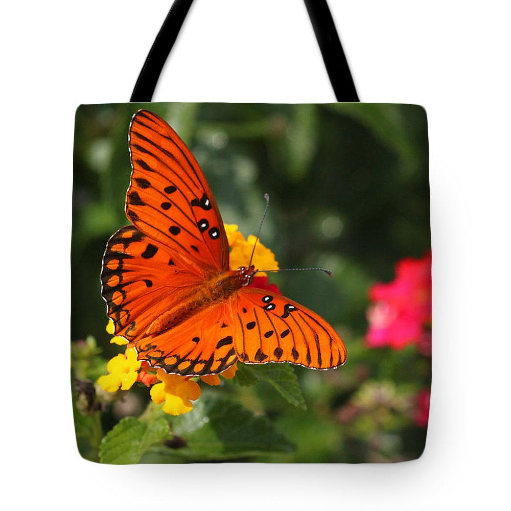 Butterfly Tote Bag featuring the photograph Butterfly Diaries IIi by Suzanne Gaff