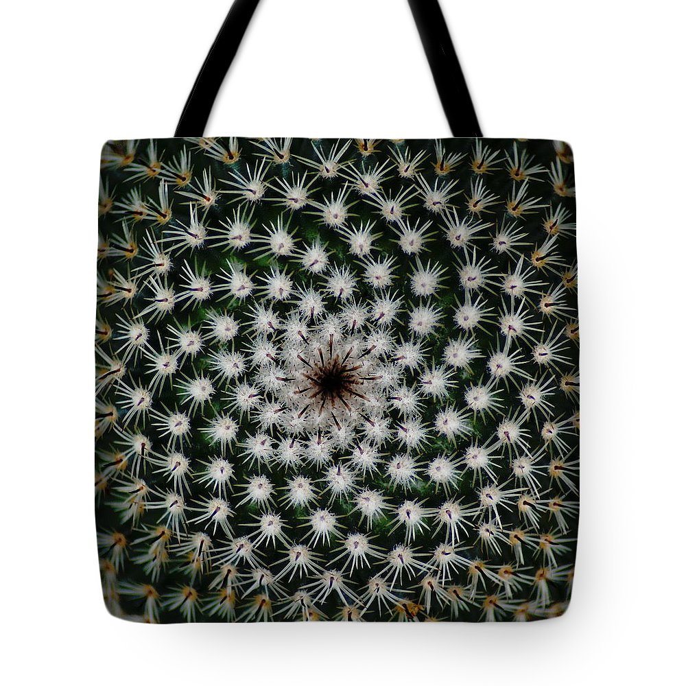 Cactus Tote Bag featuring the photograph Cacti by Ben Upham III
