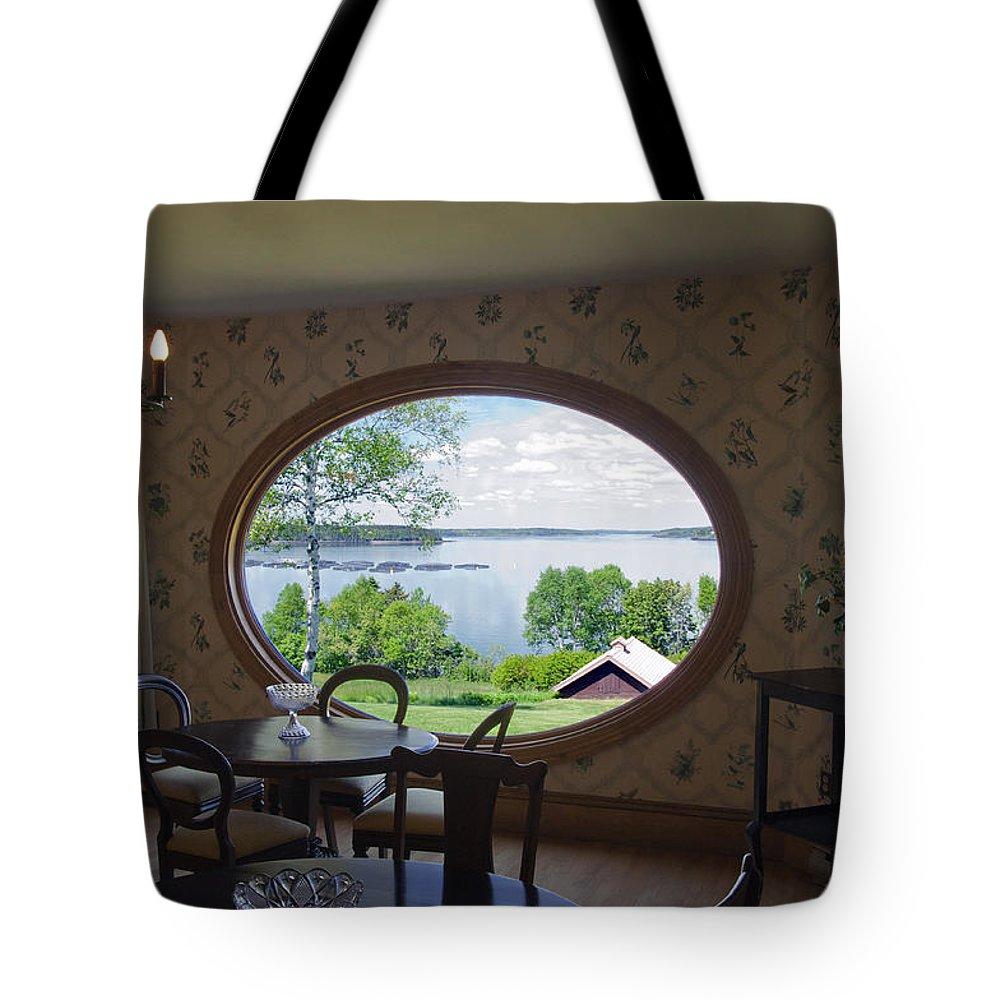 Campobello Island Tote Bag featuring the photograph Campobello Island Roosevelts House by Glenn Gordon
