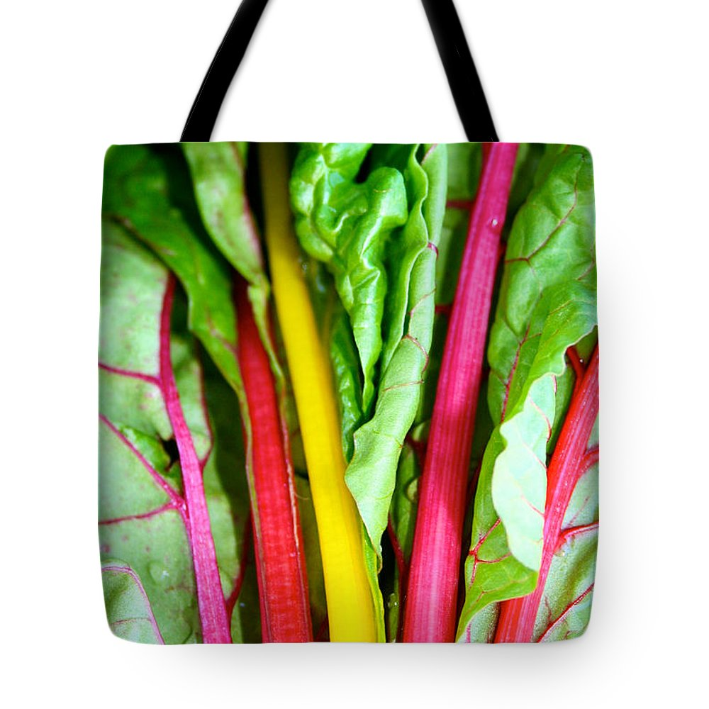 Food Tote Bag featuring the photograph Candy Color Greens by Susan Herber