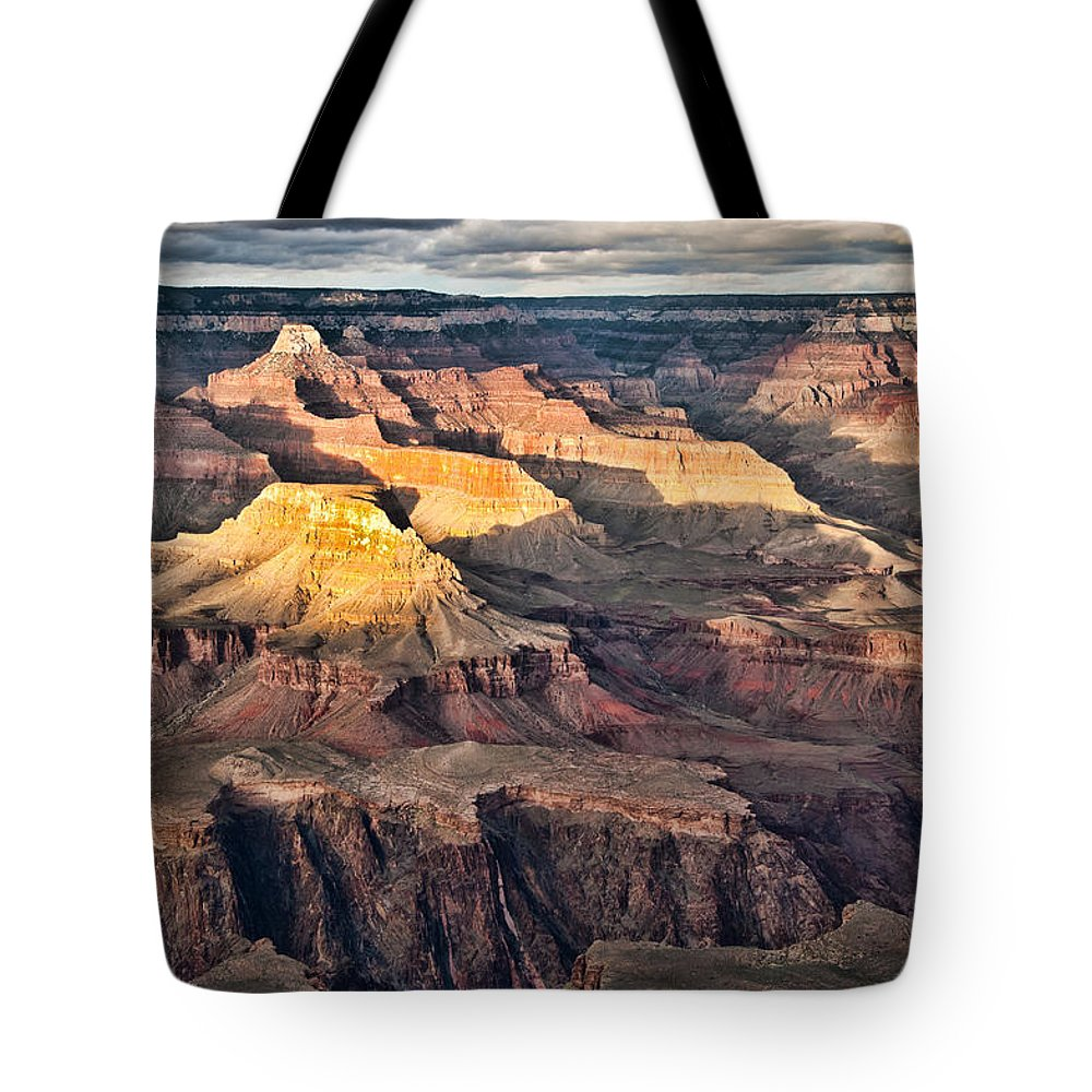 Grand Canyon Tote Bag featuring the photograph Canyon View Viii by Jon Berghoff
