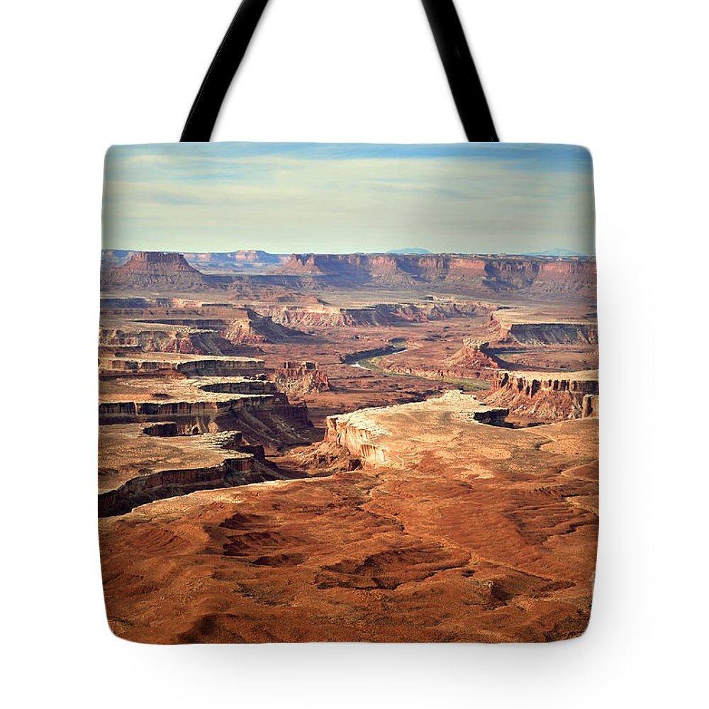 Canyonlands National Park Tote Bag featuring the photograph Canyonlands by Tara Turner